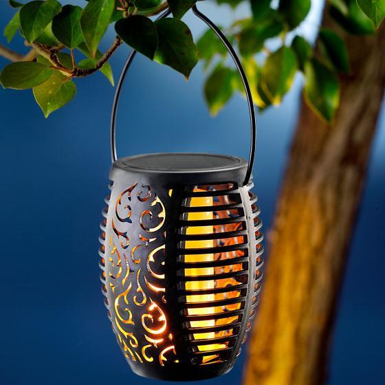 Solar Gartenstecker Flame 2er-Set, Flammeneffekt durch 51 LEDs,47 cm, Erdspieß ca. 11 cm | #3