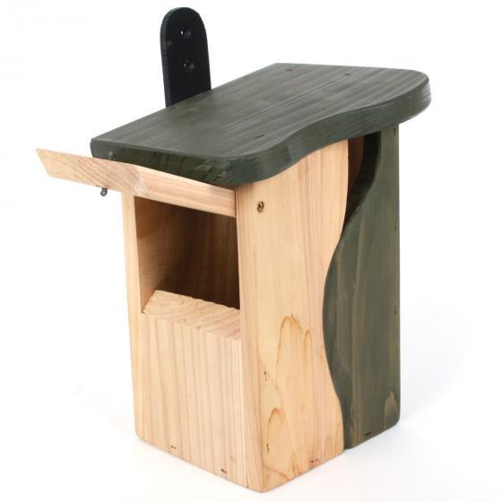 Nistkasten Baumhöhle, 19x15x25 cm,  FSC®-zertifiziertes Zedernholz | #3
