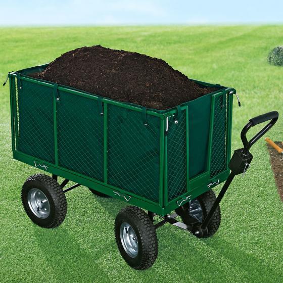 Gartenwagen XXL, Metall, Ladekapaziät 500 kg | #3