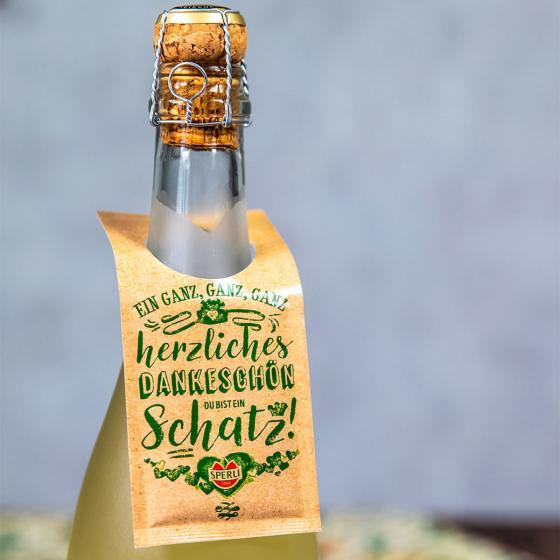 Geschenkanhänger für Flaschen - 3 Stück | #3