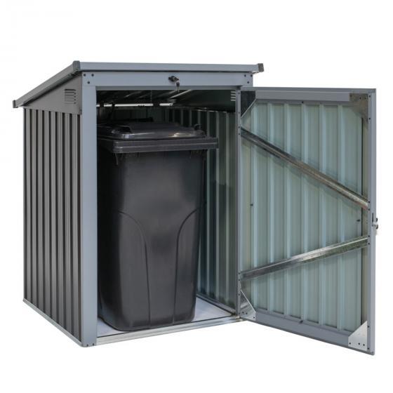 Mülltonnenbox 240l Stahlblech, 1er Box | #3