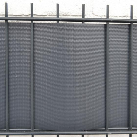 PVC Sichtschutz Zaunfolie hellgrau | #3