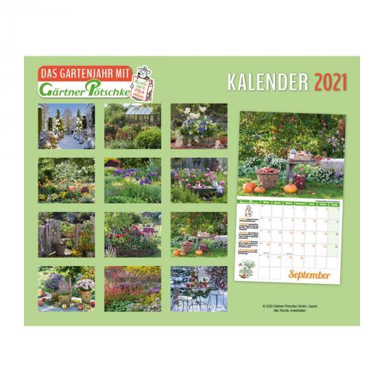 Gartenkalender mit 2 Blechschildern | #3