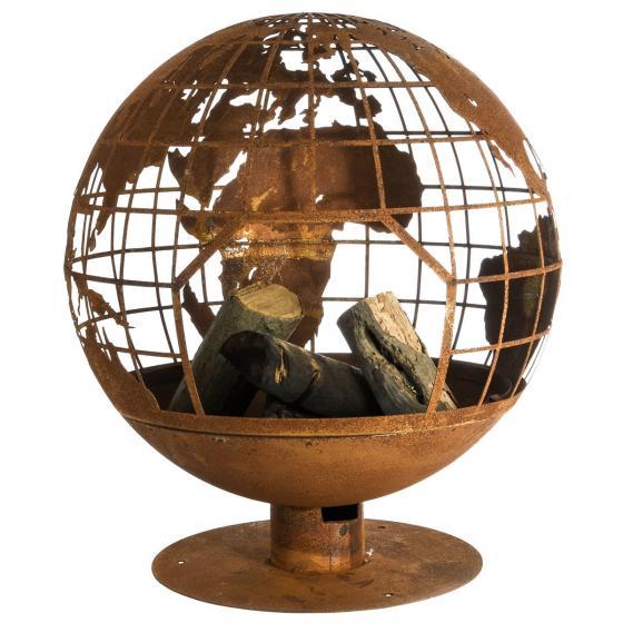 Feuerball Lasercut Globus | #3