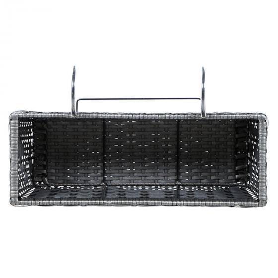 Balkonkasten Vio mit Halter und Kunststoffeinsatz, 51 x 21 x 19 cm   #3