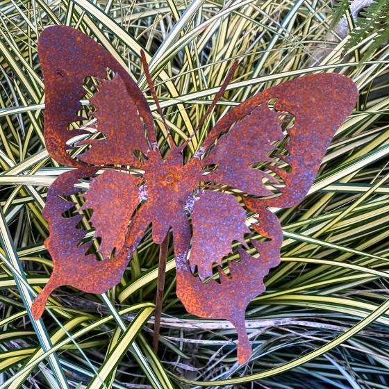 Gartenstecker Butterfly, Edelrost, 52 cm | #3