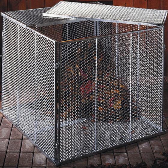 Kompostsilo, 80x80x70 cm, Feuerverzinkt | #3