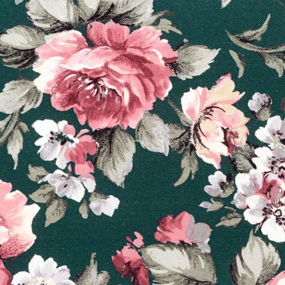 Gartenbank-Auflage Lissa, 140cm, Blume-Petrol | #3