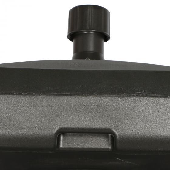 Schirmständer für Schirmstöcke 30-55 mm, 50l, mit Rolle, befüllbar, anthrazit   #3