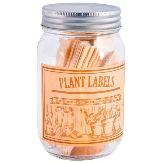 Holzstecketiketten im Glas | #3