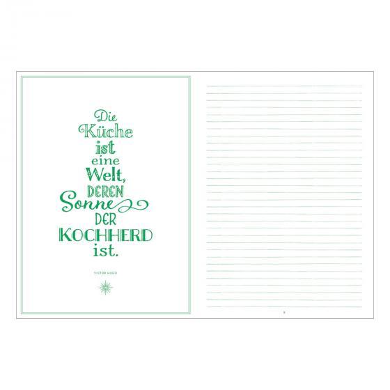 Meine liebsten Rezepte - Einschreibbuch (All about green) | #3