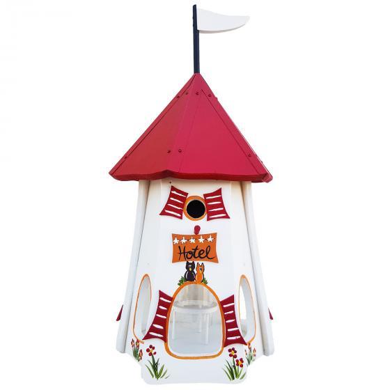 Nistkasten mit Vogelhaus Turmhotel  Zur Eule | #3