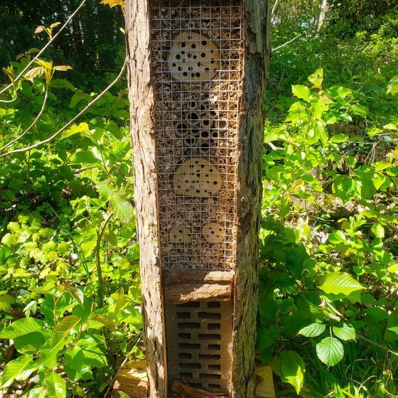 Natur-Insektenhotel Turmhotel | #3