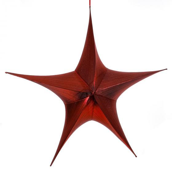 Bezaubernder Dekostern, 65 cm, rot | #3