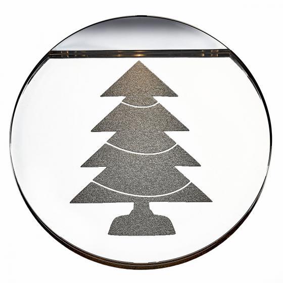 Deko-Lights Tannenbaum, silber, Ø 10 cm | #3