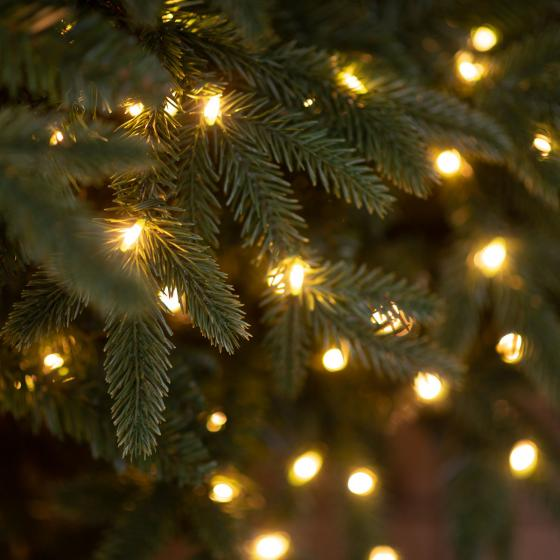Künstlicher Weihnachtsbaum Fichte, mit Beleuchtung, 180 cm | #3