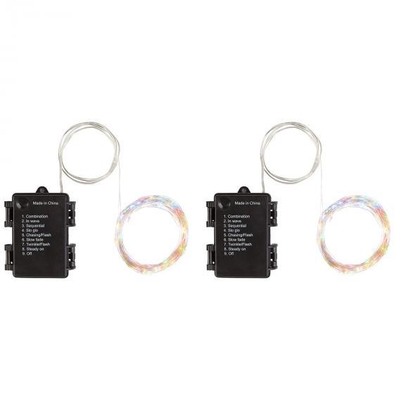 Sparset LED-Lichterkette Colori Garden 10m, 100 LEDs, 2er-Set | #3