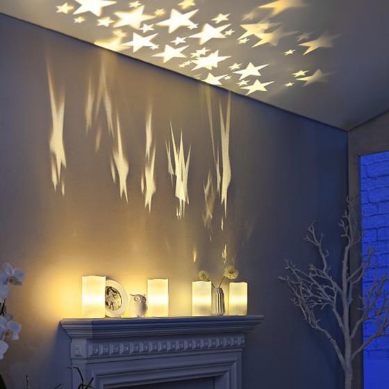 LED-Kerze Sternenlicht | #3