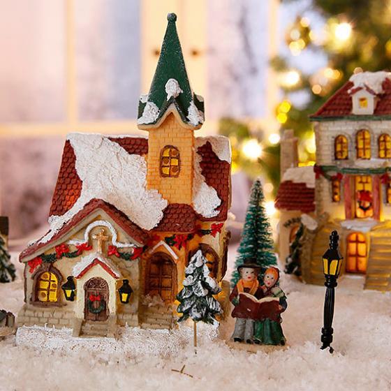 Weihnachtsdorf, 17-teilig | #3