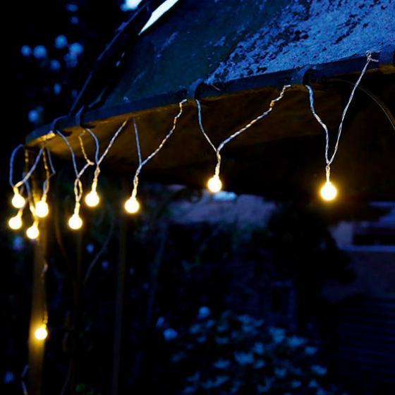 LED Solar-Lichterkette Moon Drops, 20-teilig | #3