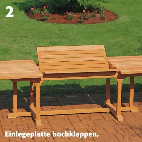 TEAK-Maxi-Tisch King Henry, Länge 200-300 cm | #3