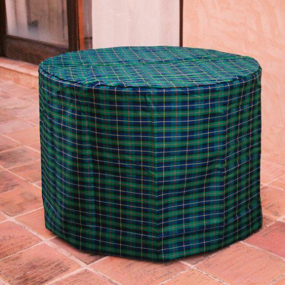 Tisch-Schutzhülle, grün, rund, groß | #3