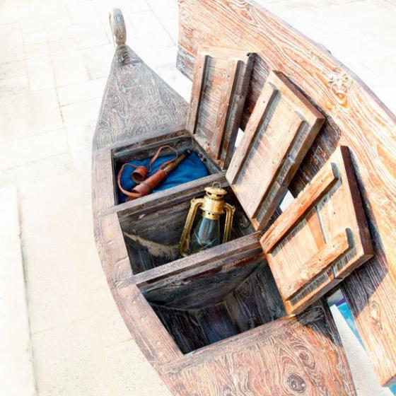 Bootsbank Schiff-Ahoi, 2-Sitzer | #3