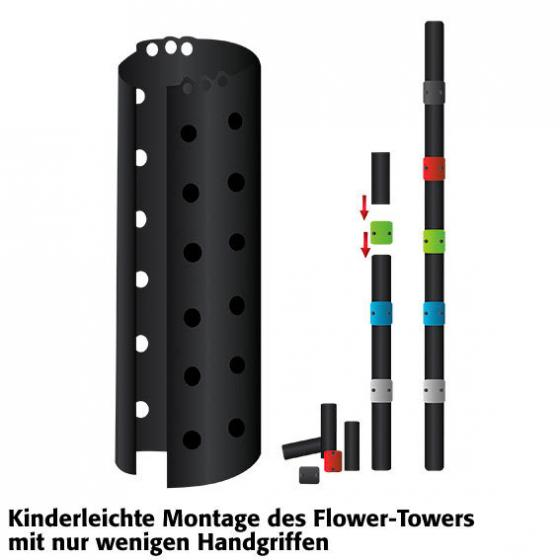 Flower Tower hängend | #3