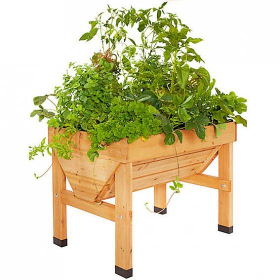 hochbeet vegtrug medium inkl pflanzvlies von g rtner p tschke. Black Bedroom Furniture Sets. Home Design Ideas