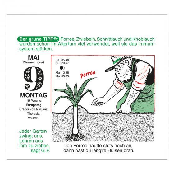Abreißkalender Der große Grüne Wink®   #3