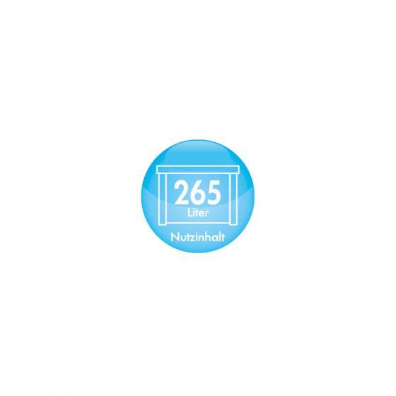 Auflagenbox mit Sitzfunktion 265 Liter anthrazit | #4