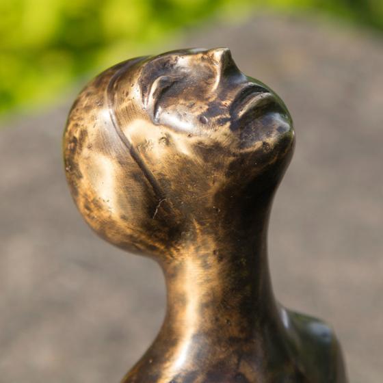 Bronze-Figur Sternbeobachterin Stella | #4