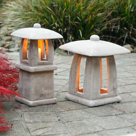 Terracotta-Gartenlaterne Vista | #4