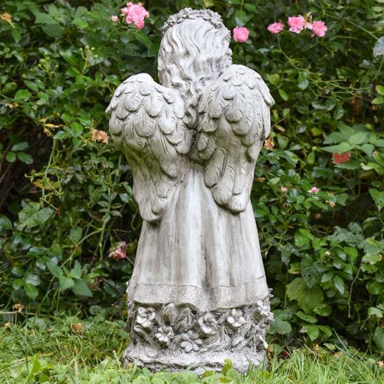 Gartenfigur Blumenengel Fiona | #4