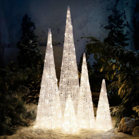 LED-Leucht-Pyramide Starlight, 24 LEDs | #4