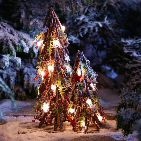 LED-Tannenbaum Landhaus, groß | #4