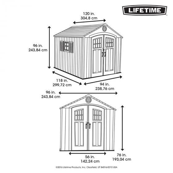 Lifetime Gerätehaus Kraftwerk | #4