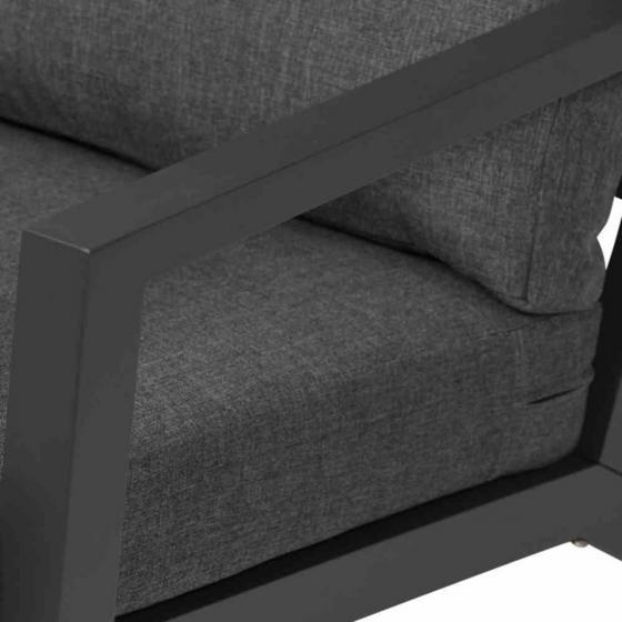 Lounge-Sessel Belia, 81x79x91 cm, Aluminium, anthrazit | #4
