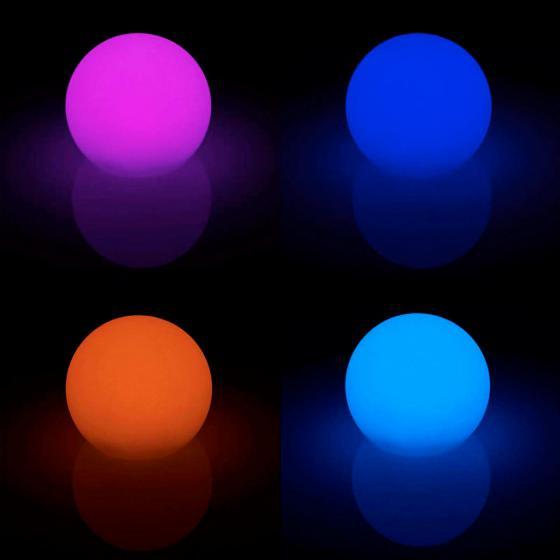 LED-Dekoleuchte Tomila, USB, RGB-Farbwechsel, 30 cm | #4