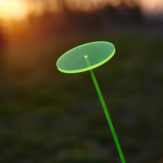 Krinner Lumix Swing Lights, 66x8x8 cm, Acrylglas, grün | #4