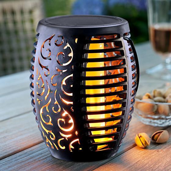 Solar Gartenstecker Flame 2er-Set, Flammeneffekt durch 51 LEDs,47 cm, Erdspieß ca. 11 cm | #4
