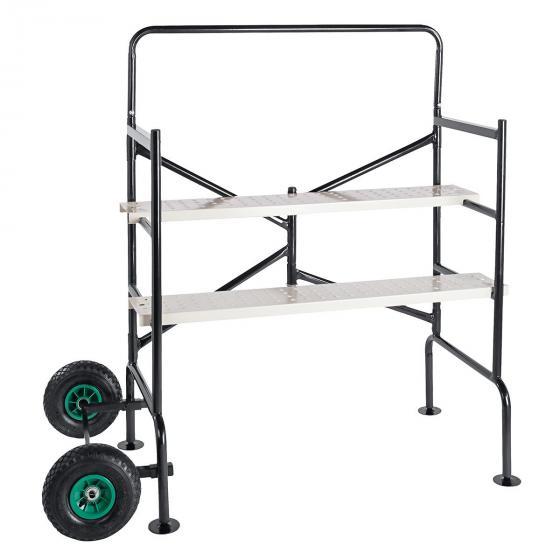 Mobiles Gerüst mit luftgefüllten Reifen, Tragkraft ca. 150 kg | #4