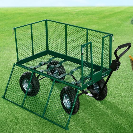 Gartenwagen XXL, Metall, Ladekapaziät 500 kg | #4