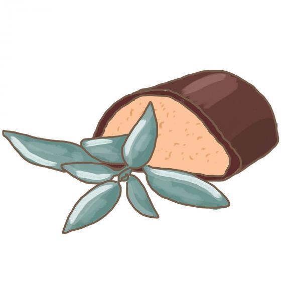 BIO Kräuterpflanze Marzipan-Salbei, im ca. 12 cm-Topf | #4