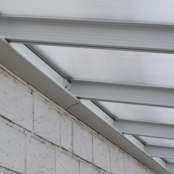 Terrassenüberdachung B 618 x T 303 cm weiß | #4