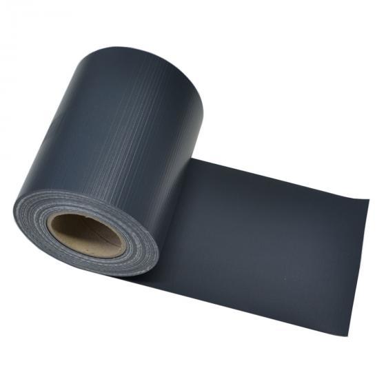 PVC Sichtschutz Zaunfolie dunkelgrau | #4