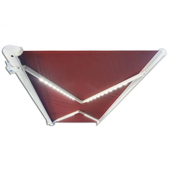 Vollelektrische Kassettenmarkise Elos V2 terrakotta 350 x 250 cm inkl. Windsensor | #4