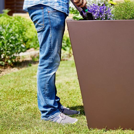Hochbeet Valenta, 150 cm, rost matt | #4
