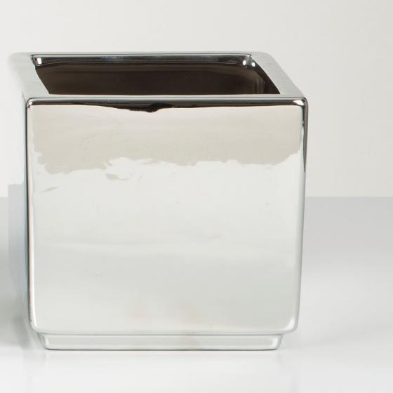 Übertopf Mirror Silver, 15 cm, Silber | #4