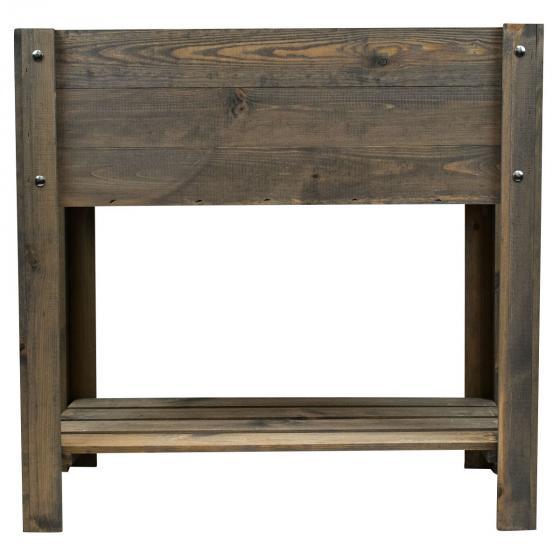 Balkonhochbeet Easy, grau, 80x40x78 cm | #4